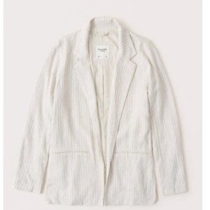 NWT Abercrombie and Fitch Linen Blazer